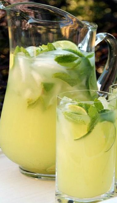 Vodka Mint Lemonade