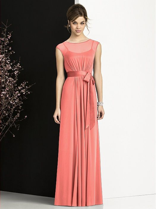After Six Bridesmaids Style 6676 http://www.dessy.com/dresses/bridesmaid/6676/?colorid=495#.UoI9aeK7T0c