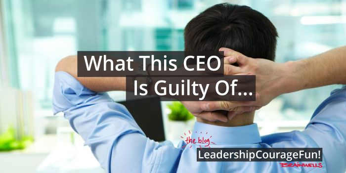 What do you do if you run a team where the team members… #leadership #CEO #Team