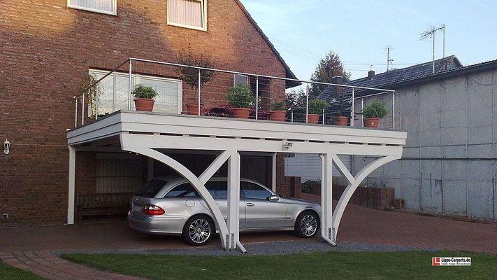 Beispiel Nr Bc13 3 Das Balkongelander Aus Edelstahl Hat Dieser Bauherr In Eigenleistung Erstellt Dachterrasse Carport Uberdachung Terrasse Dachterrasse Garage