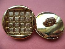 9 Knöpfe gold 21mm (1118)Jackenknöpfe Mantelknöpfe