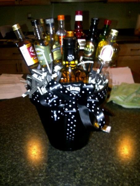 1000 Ideas About Men Gift Baskets On Pinterest Themed