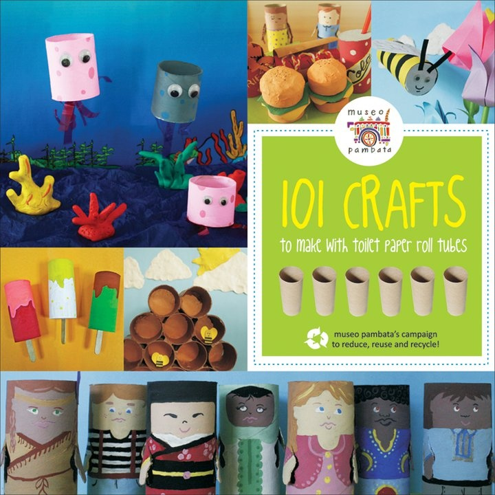 Re-Use: Paper Roll Crafts