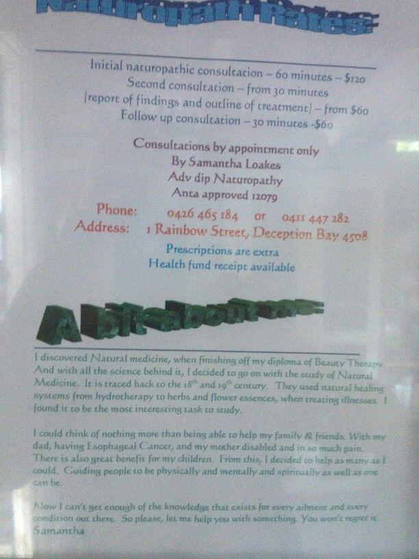 Naturopath Services