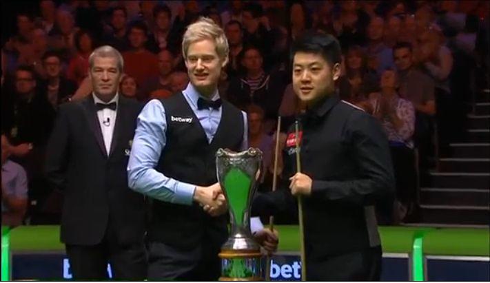 2015 UK Championship - Neil Robertson & Liang Wenbo