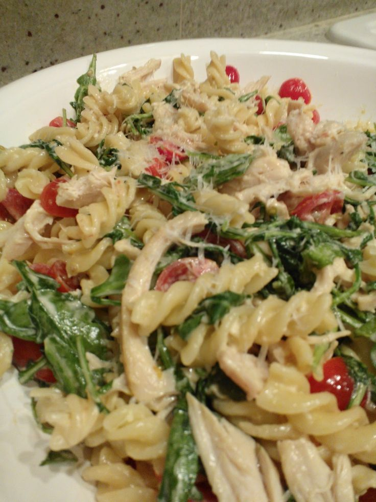 Lemon Fusilli with Arugula, Barefoot Contessa recipe