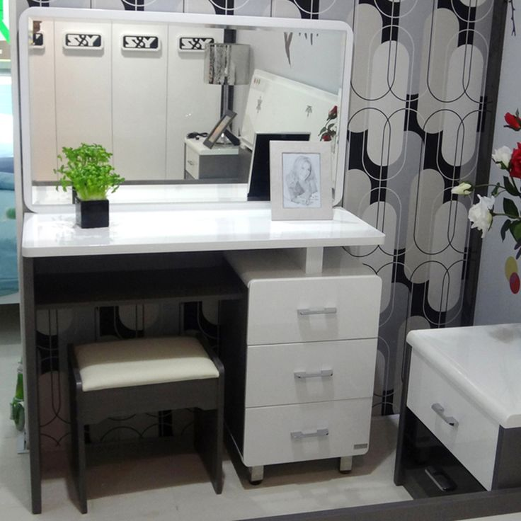 City On The 1st Studio Makeup Vanity Tables, Modern Minimalist Fashion  Makeup Vanity Cabinet Cabinet