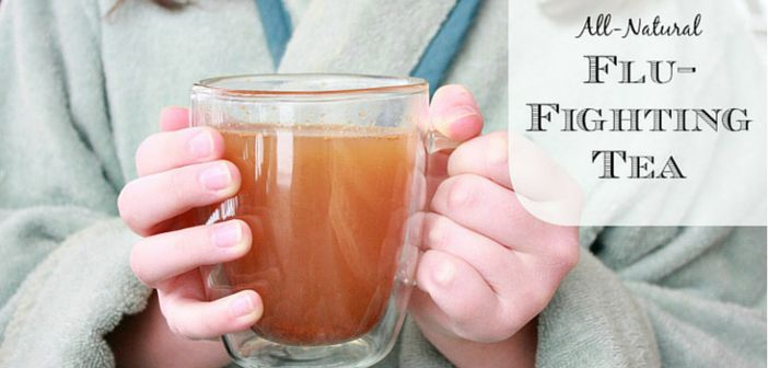 All Natural flu fighting tea