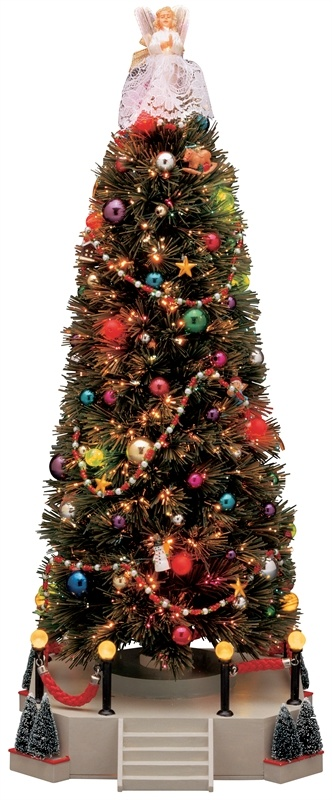 Lemax Village Collections Lighted Musical Christmas Tree