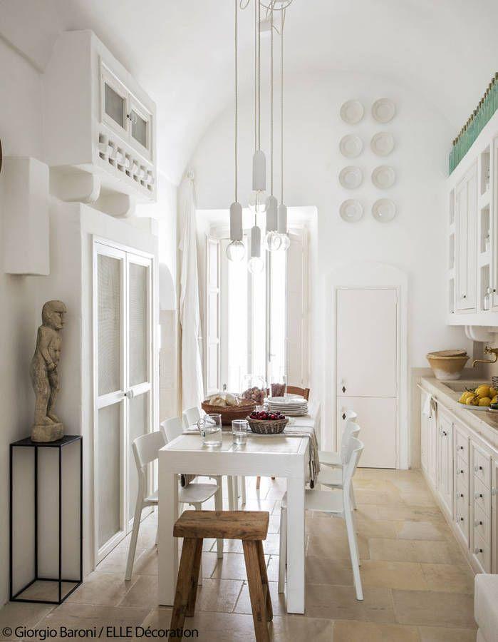Die besten 25+ Mediterrane küche innenraum Ideen auf Pinterest - esszimmer mediterran einrichten