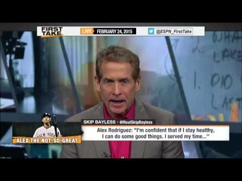 Alex Rodriquez Back With the Yankees (ESPN First Take). Stephen A. Smith and Skip Bayless discuss A-Rods return to the New York Yankees at Spring Training.