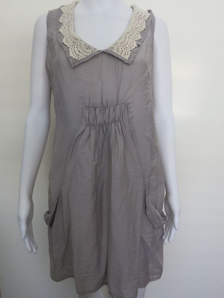 Size 12 FILO Dress New with Tags Grey Sleeveless BUY 4 or more items 4 FREE POST #Filo #CasualSummer