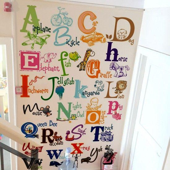 Alfabe Duvarı //ABC