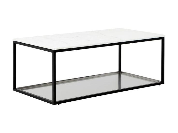 MASON Brickbord 120 Glas/Borstat Stål -