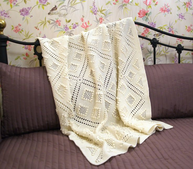 babyblanket blanket crochet popcorncrochet