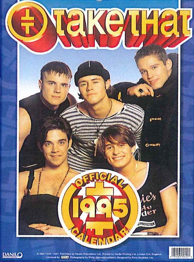 In the 90's heartbreak hit the nation as Take That announced they was to split up!  Luckily we had our Take Take calendars to keep us happy until the band got back together!