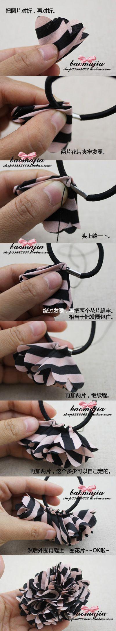 diy hair tie