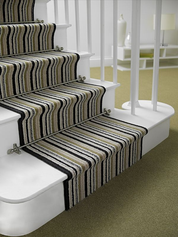 The Vision Stair Rods Feature Modern Finial Designs They Are Designed To  Complement Stair With Modern Stair Runners.