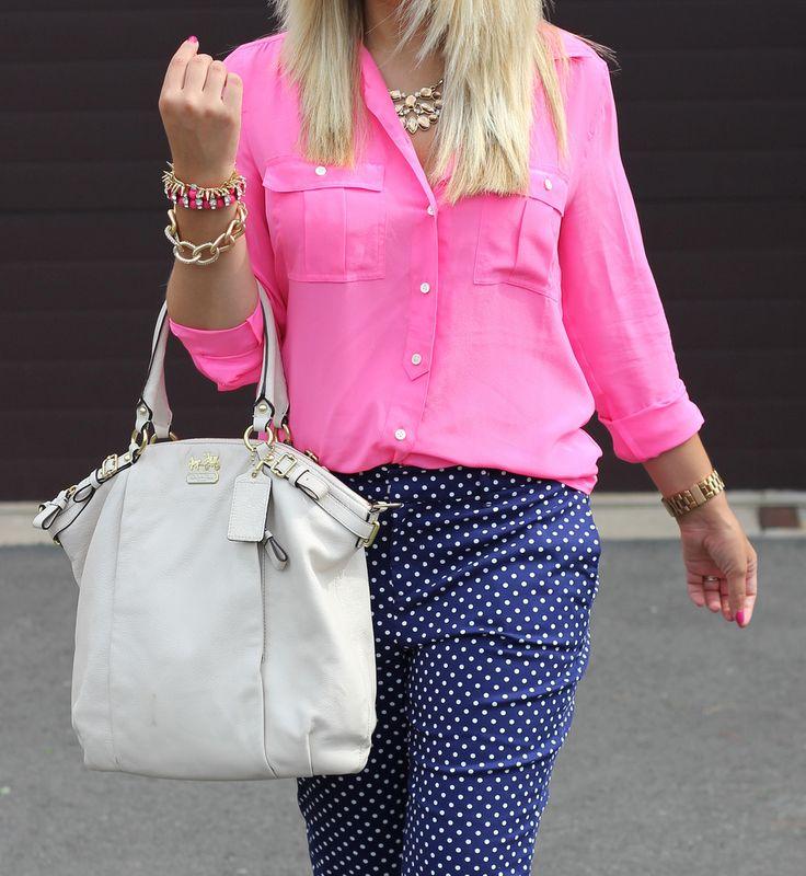 Polka Dot Pants - Mix & Match Fashion