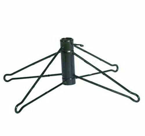 Felices Pascuas Collection Green Metal Artificial Christmas Tree Stand for 10' Trees