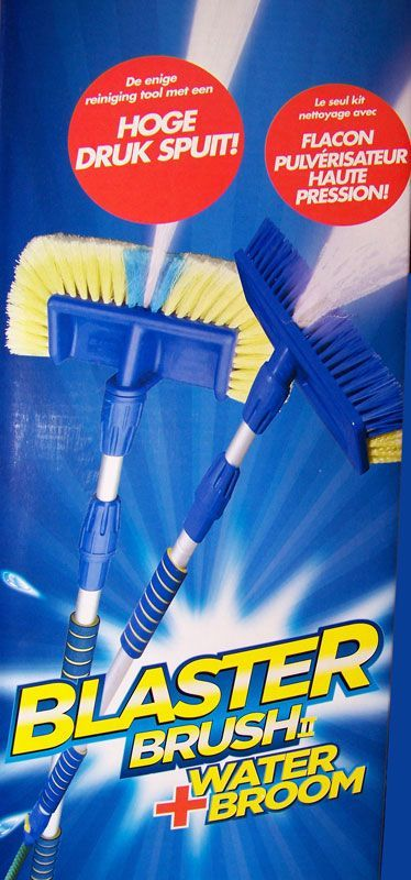 Aqua Laser Blaster Brush (2-in-1)