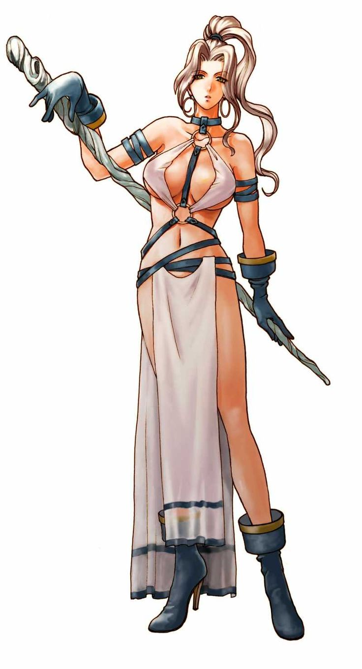 Suikoden IV - PS2-- Jeanne loses more and more clothing every game.