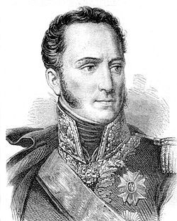 Armand Augustin Louis, marquis de Caulaincourt, duc de Vicence, né le 9 décembre 1773 à Caulaincourt, mort le 19 février 1827 à Paris, est un général et diplomate français de la Révolution et de l'Empire..(1803 général de brigade et nommé en 1805 général de diviion