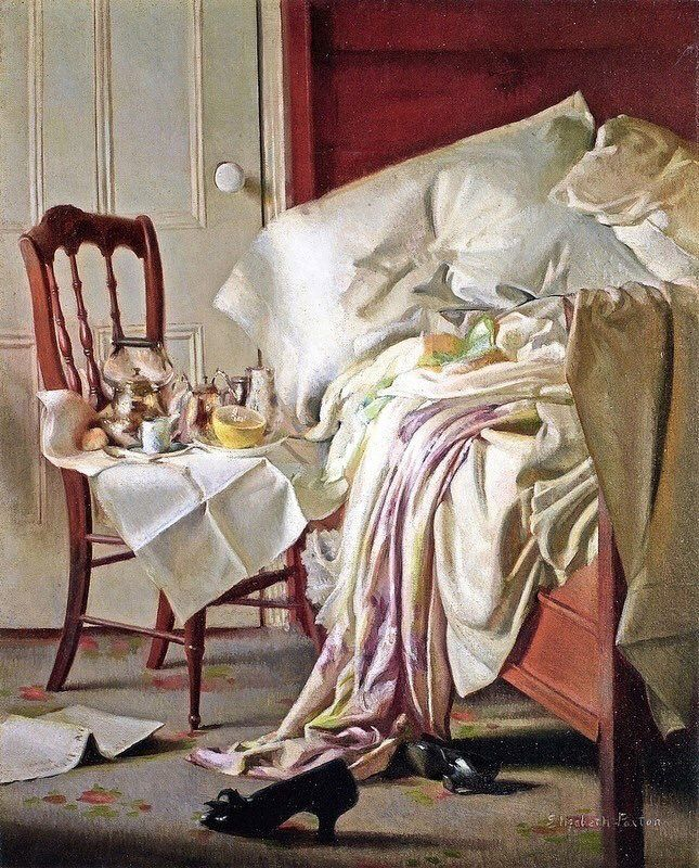 l vassoio della colazione, 1910 Elizabeth Okie Paxton (1877-1971)