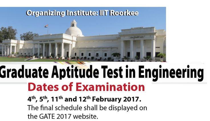 GATE 2017 Application Form,GATE Application Form 2017,GATE Application Form,GATE 2017 Application Form exam date,notification,exam date,Application Form,www.gate.iitr.ernet.in GATE Application Form / Exam Date – Hello Friends We have a special News for all of you, The News is that GATE 2017 Application form will be started form 1st September 2016. Any students who is InterestedThey able …