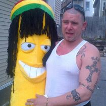 Man loses life savings on carnival game and all he has to show for it is this Banana.
