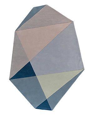 Multi Conran Colour Block Design Rug