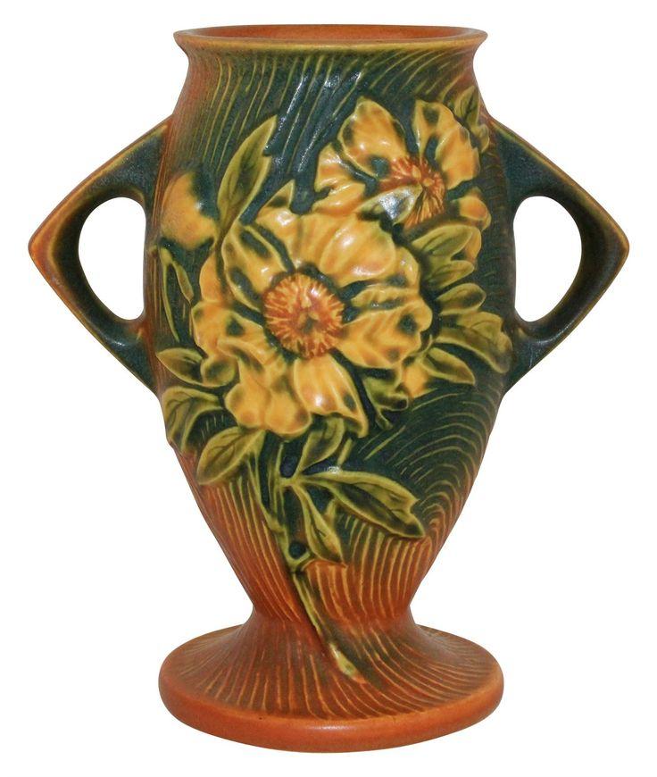 Pine Cone Vase Roseville Pottery Patterns