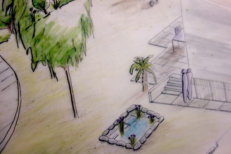 Isometrie: Zeichnen in der Gartengestaltung