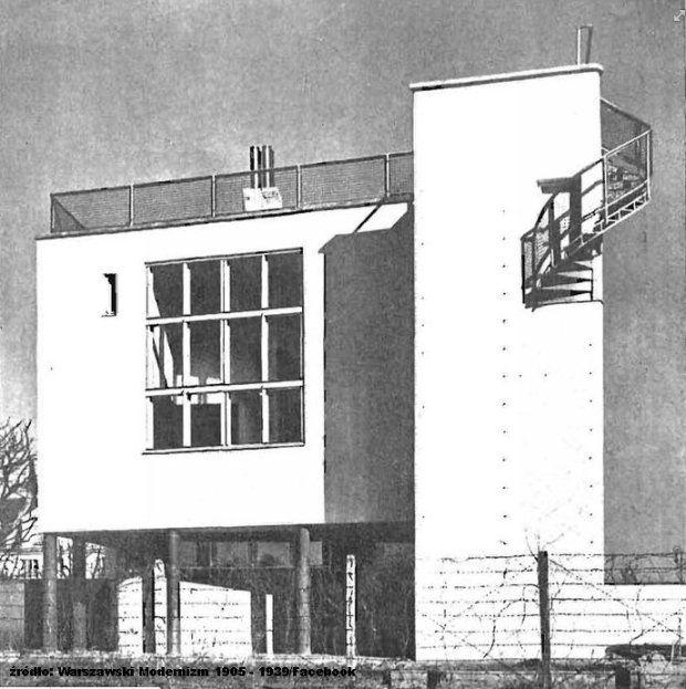 Warsaw, Saska Kepa, Katowicka Str. proj. Bohdan Lachert, Jozef Szanajca , const.Stanislaw Hempel, 1928/29