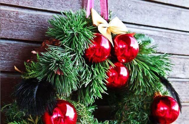 Sweet home: Как сделать рождественский венок