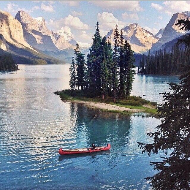 Spirit Island Canada , have visited , so beautiful!