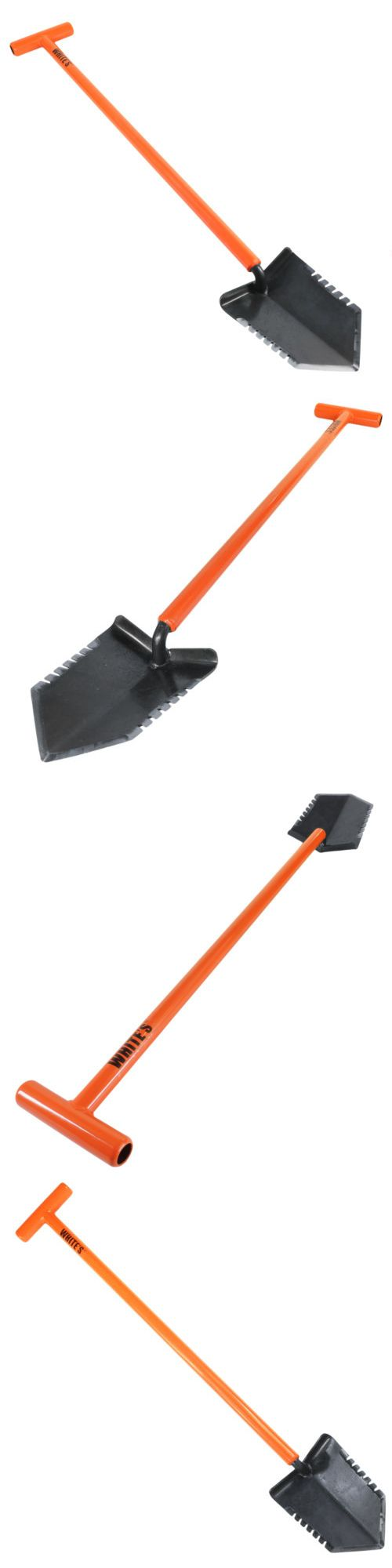 Metal Detector Accessories: White S Ground Hawg Metal Detector Shovel For Serious Hunters -> BUY IT NOW ONLY: $59.95 on eBay!