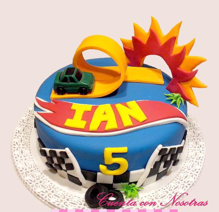 Torta hotwheels Hotwheels Cake