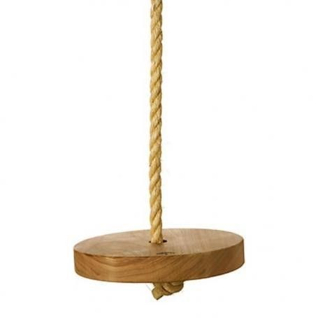 Original Wooden Rope Tree Swing