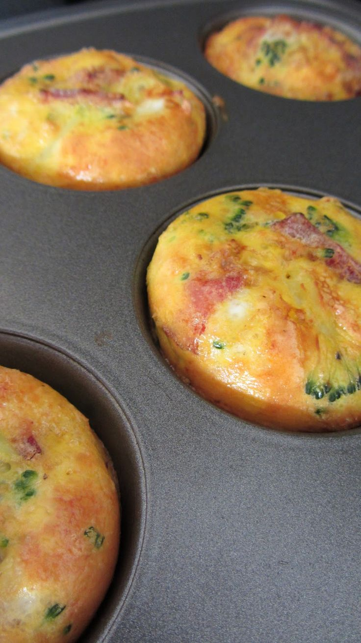 I Don't Know . . . It's A Mystery!: Omelet Muffins, Breakfast Of Champions