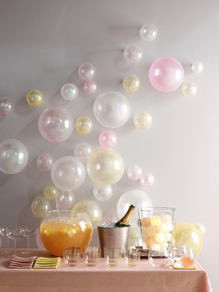 bubbly party
