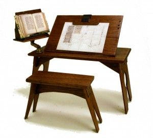 Medieval Scribe's Desk