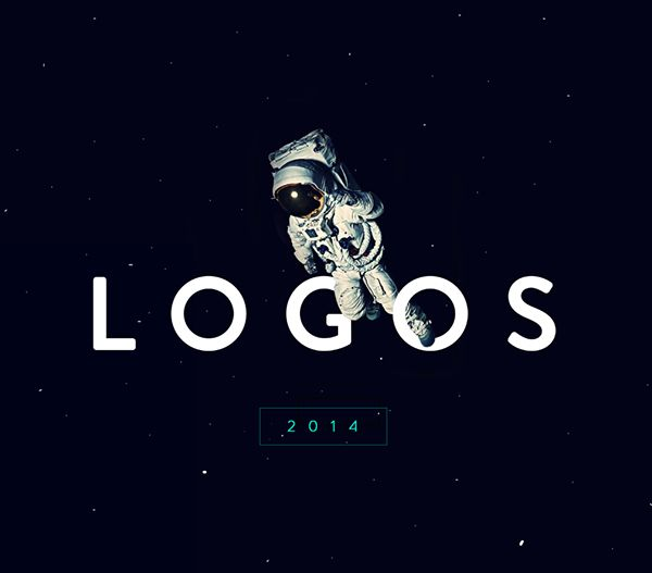 L O G O S | 2 0 1 4 on Behance #astronaut #outer #space #logos #2014 #graphic #design