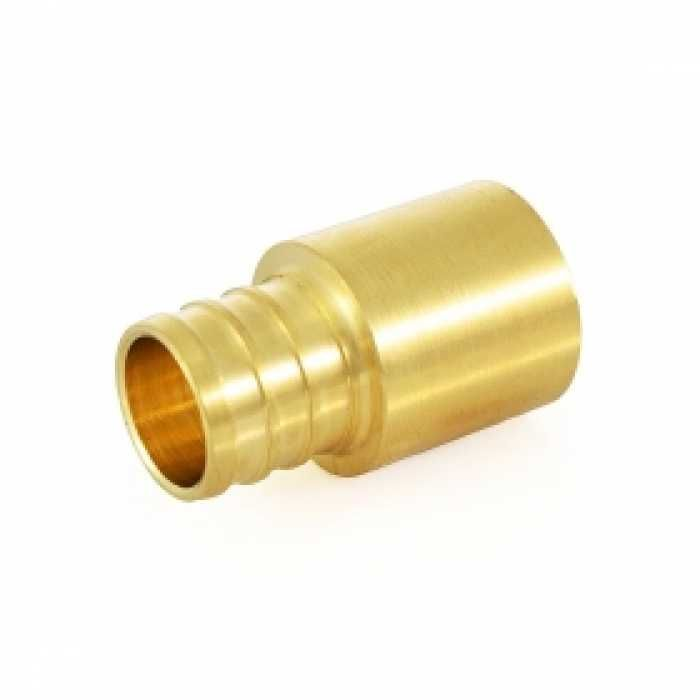 """3/4"""" PEX x 3/4"""" Copper Fitting Adapter (Lead-Free)"""