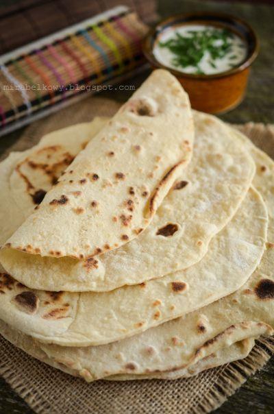 Mirabelkowy blog: Tortille pszenne