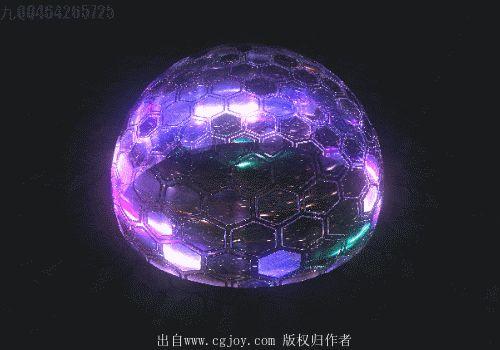 Движение, приковывает взгляд. Смена блестящих красок, ощущение тайны, огромной силы, что скрывается внутри этого шара.