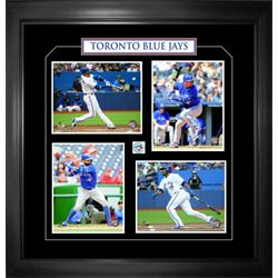 Toronto Blue Jays Framed 4-8x10 Bautista, Donaldson, Encarnacion,Tulowitzki
