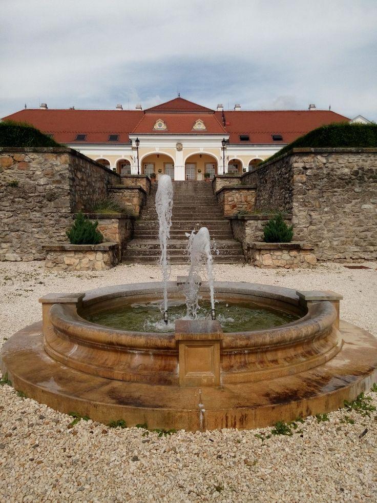 Teleki-Wattay Castle in Pomáz, Hungary.
