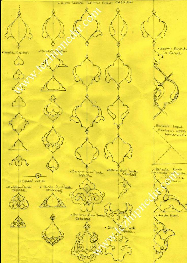 Tezhip ornament guide