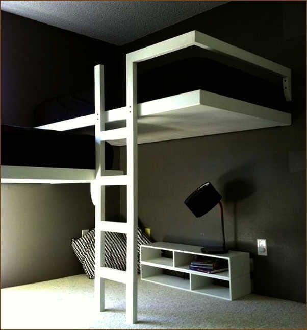 Best Bunked Kleine Wohnung Einrichten Bett Modern Und Ideen 400 x 300